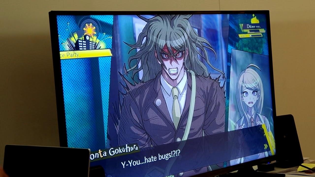 gamescom 2017 - danganronpa v3: killing harmony gameplay 1 - youtube