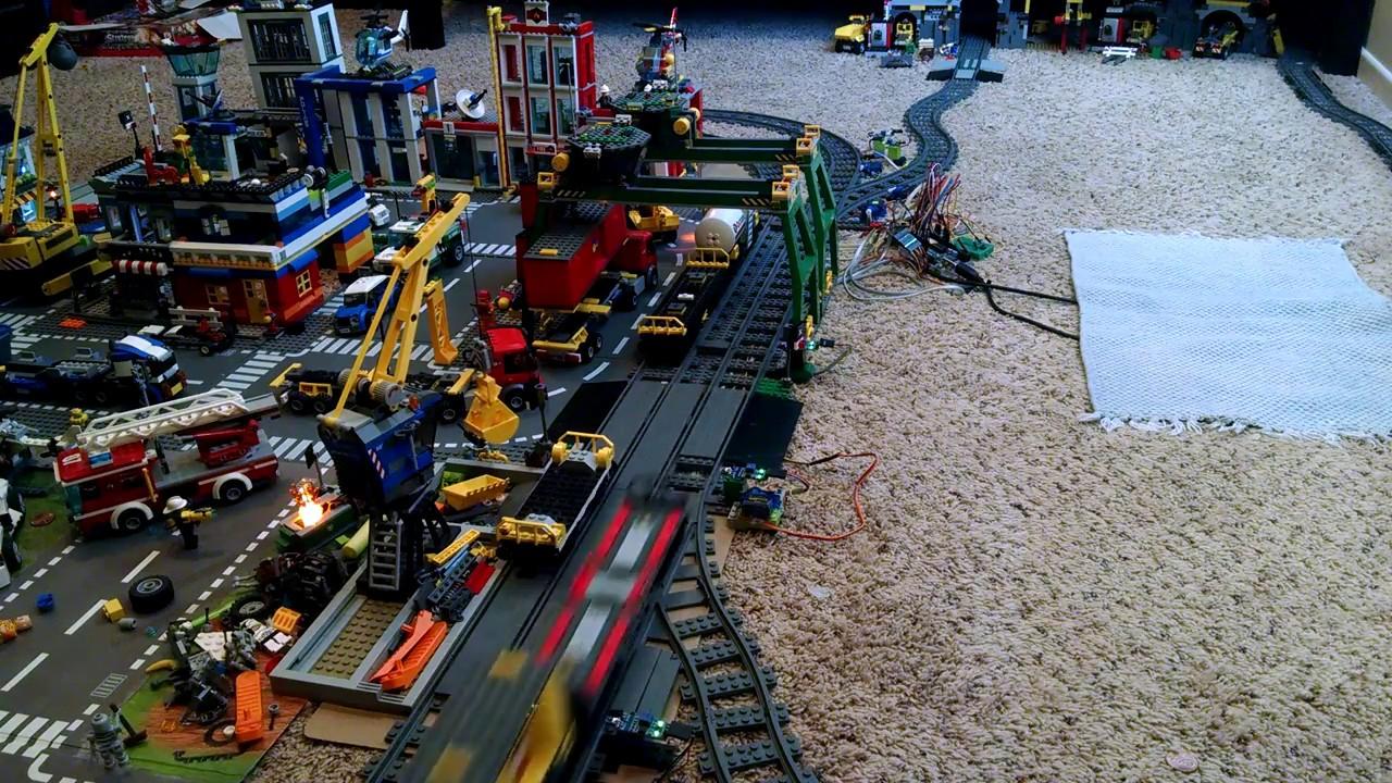Arduino controlled lego train youtube