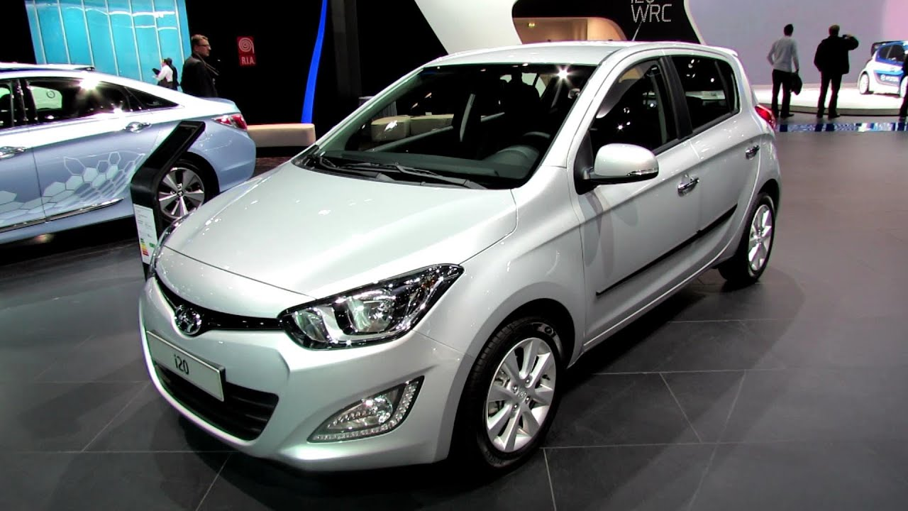 2013 hyundai i20 diesel exterior and interior walkaround. Black Bedroom Furniture Sets. Home Design Ideas