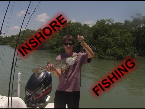 Fishing inshore estero bay youtube for Estero bay fishing report