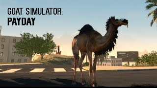 Goat Simulator: PAYDAY [Gameplay, PC]