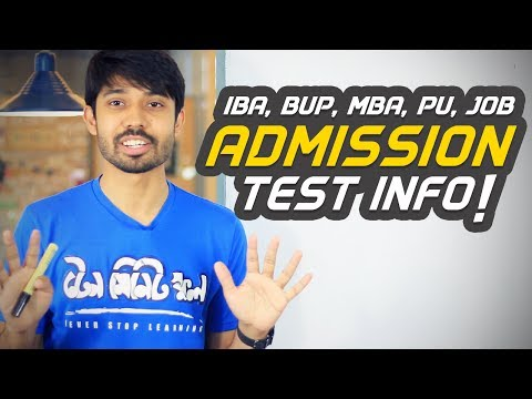 IBA, BUP, MBA, Private Universities & Job Recruitment EXAM