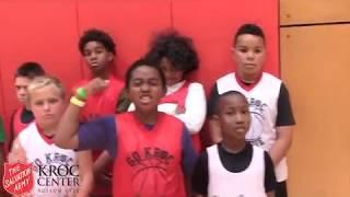 Kroc Summer Camp Basketball 2018