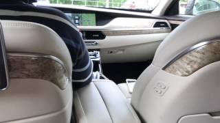 На Genesis Дженезис G90 с водителем. Волшебно просто