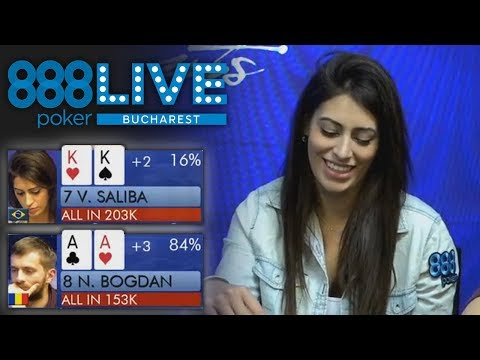 Can Vivian Saliba Survive 888poker LIVE Bucharest Day 2?