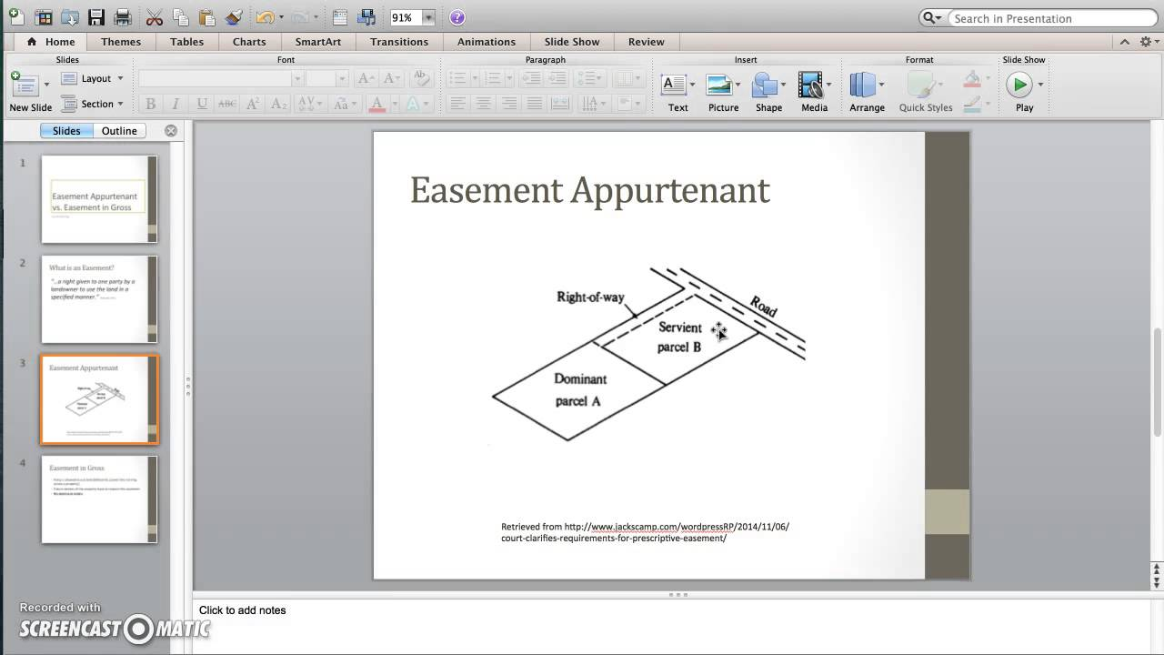 Free easement search