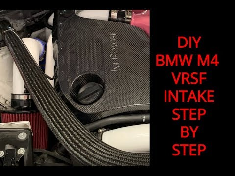 DIY: VRSF BMW S55 Air Intake Step By Step Install For the M3 M4 & M2  Competition
