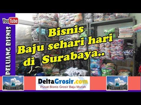 Bisnis Baju Sehari Hari di Kota Surabaya Jawa Timur