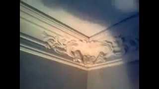 монтаж потолочного карниза 4 часть(в этом видео вы узнаете как подготовить карниз из полиуретана к покраске., 2014-05-20T16:29:09.000Z)