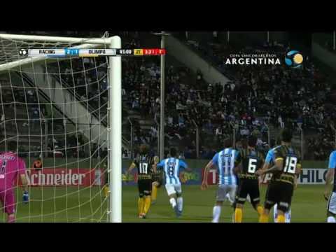 Racing mostró jerarquía y venció a Olimpo por Copa Argentina