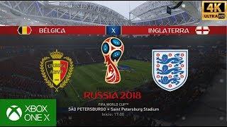 FIFA 18 WORLD CUP TERCEIRO COLOCADO  - BÉLGICA x INGLATERRA