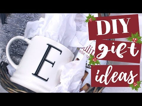 DIY Gift Ideas! Christmas Gifts for Friends & Family! 2017