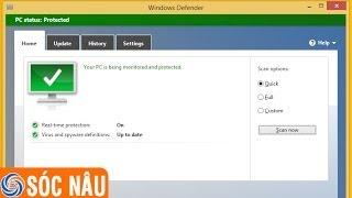 Hướng dẫn quét virus trên Windows 8