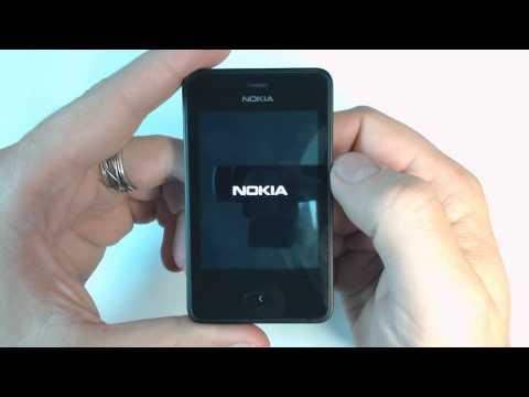 Nokia Asha 501 - How to reset - Como restablecer datos de fabrica