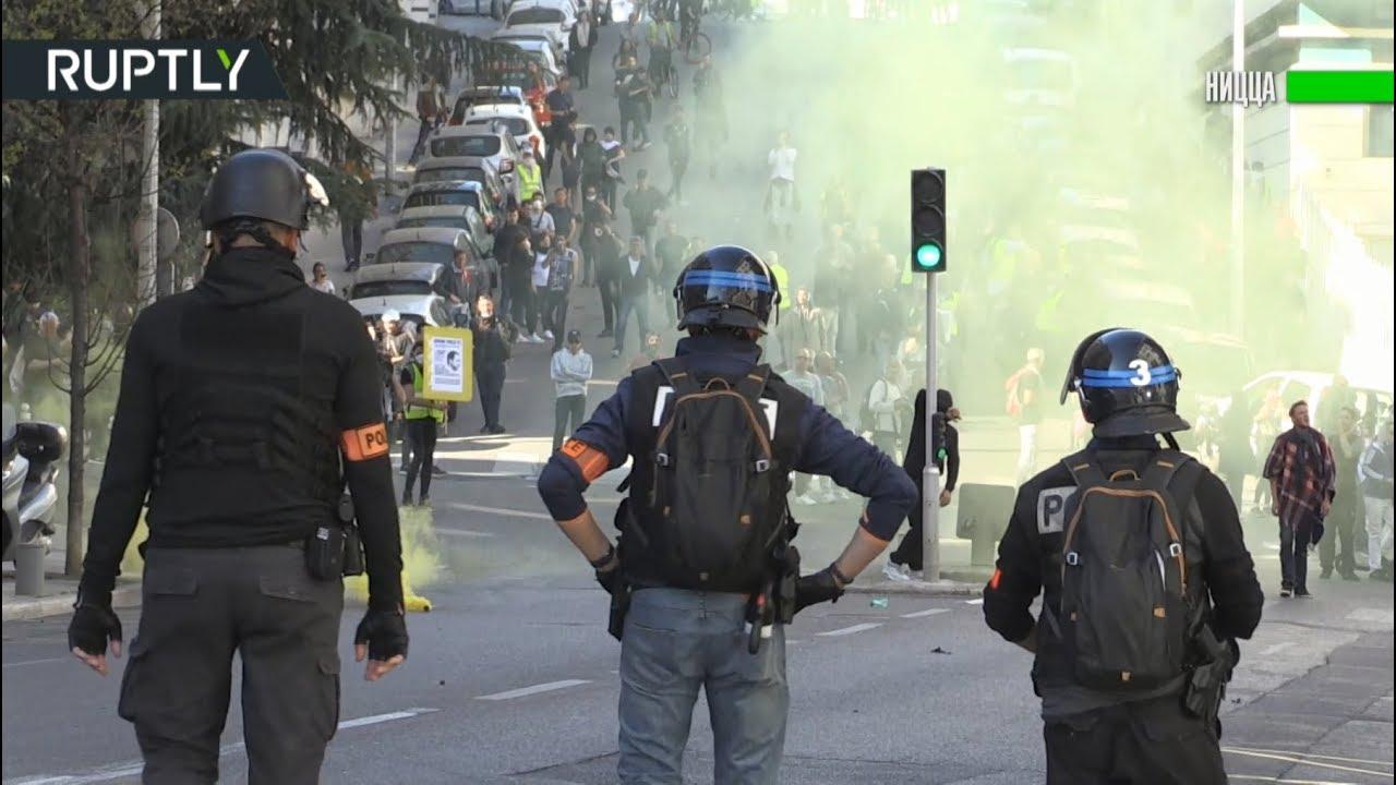 Слезоточивый газ и столкновения с полицией: 19-я акция протеста «жёлтых жилетов»