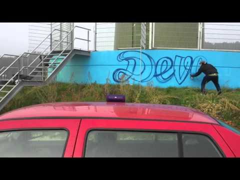 Graffiti Windmolen Deventer // Pure Energie // Deventer Energie