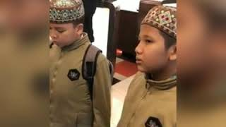 Красивое чтение Корана молодыми хафизаим