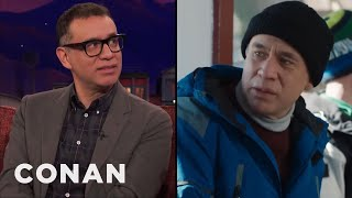 """Please Don't Watch This Clip From Fred Armisen's New Show """"Forever""""  - CONAN on TBS"""