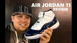 Air Jordan 11 Win Like 82  Retro Navy XI Sneaker Honest Review