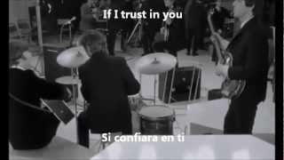 The Beatles - If I Fell (Subtitulada Inglés/Español)