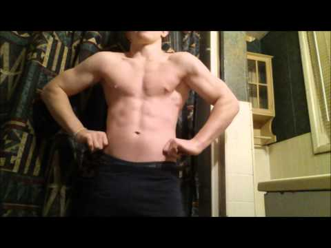 14yo Teen Bodybuilder Jake Shows Huge Progress with Ripped Muscle Flexing