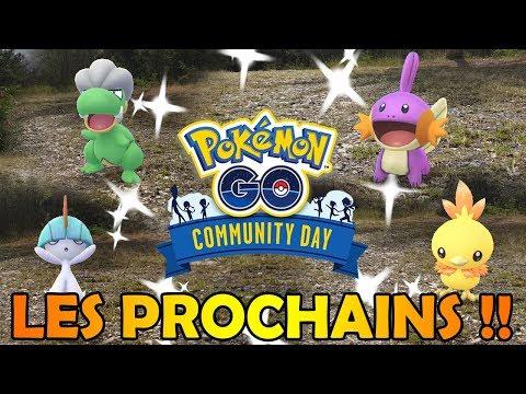 LES 5 PROCHAINS COMMUNITY DAYS SONT ANNONCÉS !! PRÉPAREZ L'ÉTÉ POKEMON GO !! thumbnail
