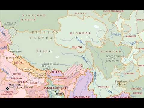 World Map Asia YouTube - World map marathi language