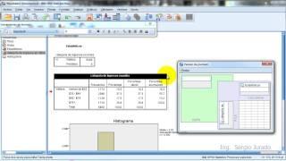 Repeat youtube video 02 Tablas de frecuencias en SPSS