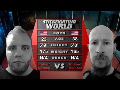 SFW 1: GENESIS - ROBERT MATSCH VS. MICHAEL ROBINSON