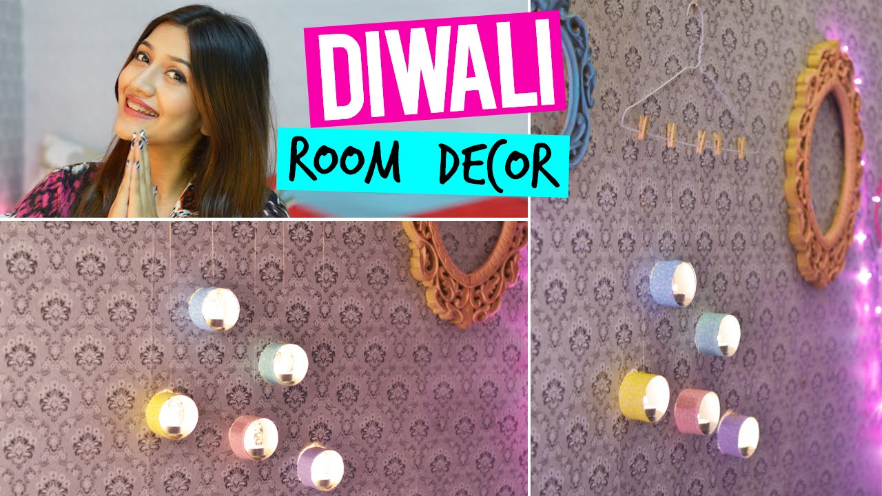 DIY : Diwali Room Decor 2015 - YouTube