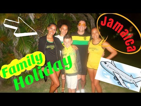 FAMILY HOLIDAY TRAVEL VLOG  | JAMAICA  | BIG GROUP  | BUSYMUMSOS