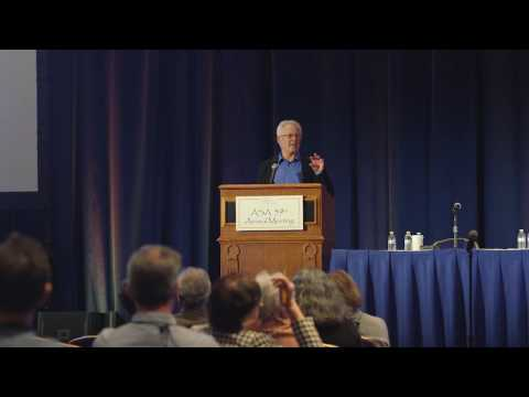 ASA 2016 ASR Distinguished Lecture
