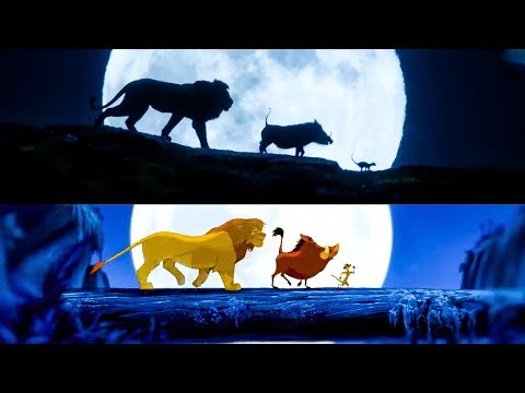 Maz - Lion King Side By Side: Animated vs Remake