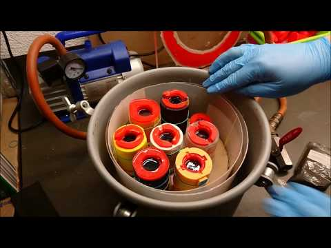 Dice Making Advanced Casting Part 1: Pressurepot and Vacuumchamber