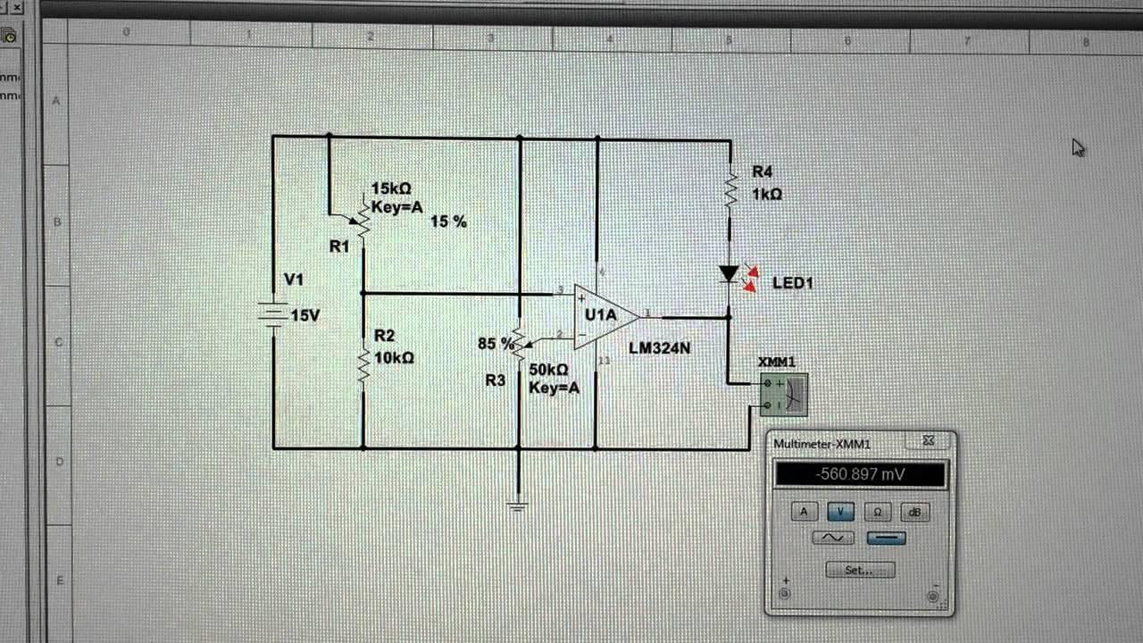 Photo Resistor LED Circuit - YouTube