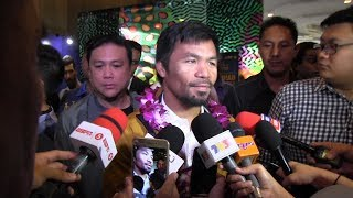 Retirement is not on Pacquiao's mind