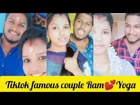 Ramyoga Tiktok famous couple videos¦ fun talkies