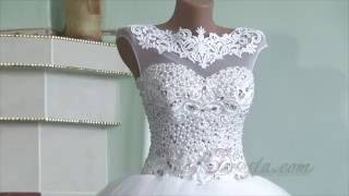 Видеообзор свадебного платья коллекции 2016 года от интернет-магазина www.ya-nevesta.com