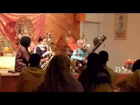 Peter Van Gelder at Sivananda Ashram at Grass Valley, CA