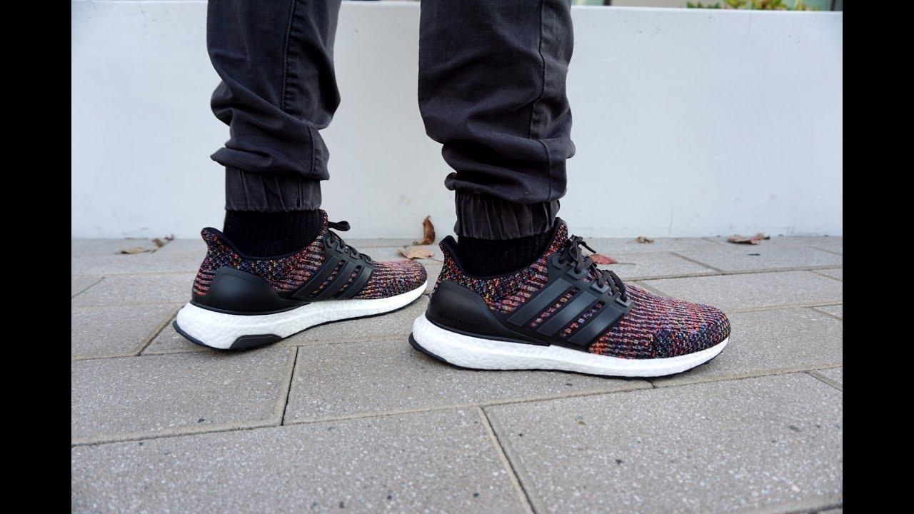 On Feet: Adidas UltraBoost 3.0 LTD (Multicolor) CG3004