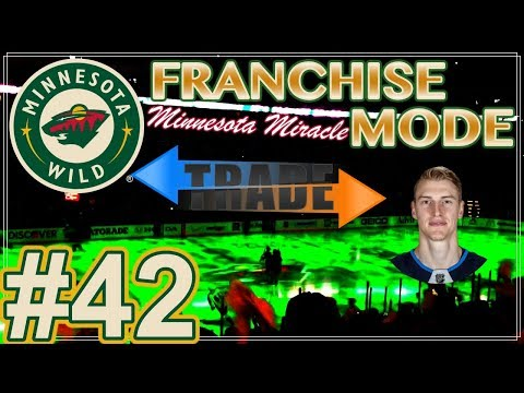 "NHL 18 Minnesota Wild Franchise Mode #42 ""Trade Deadline"""