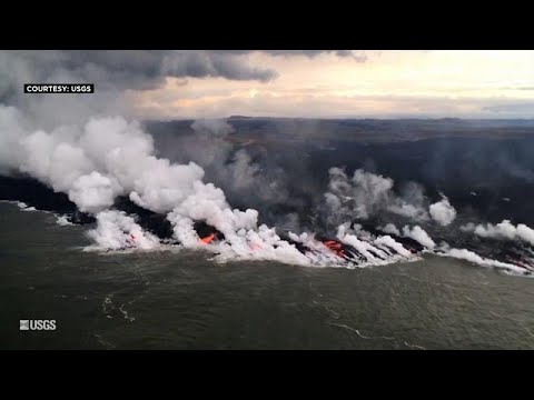 شاهد: لحظة امتزاج حمم بركان كيلاويا بمياه المحيط الهادئ …  - نشر قبل 1 ساعة