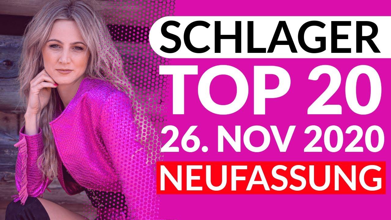 SCHLAGER CHARTS TOP 20 - Neufassung vom 26. November 2020