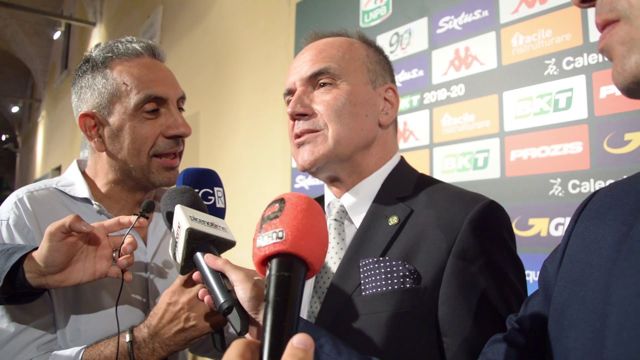 Calendario Serie B 2020 20.Mauro Balata Presidente Lnpb Presentazione Calendario Serie B 2019 2020