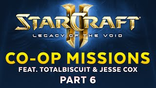 Legacy of the Void - Co-op Mode feat. TotalBiscuit & Jesse Cox - Part 6 [Sponsored]