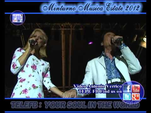 MME 23 – LITTLE TONY & CHRISTIANA Somethin' Stupid -MINTURNO MUSICA ESTATE '12 -Mammaro (A. Verrico)