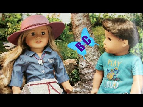 American Girl Tenney & BOY DOLL NEW CATALOG Felicity Logan WellieWishers | Buterlfycandy
