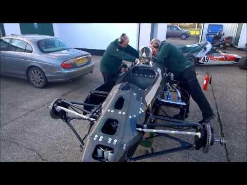Classic Team Lotus Type 91/5 start up