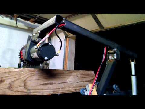 Diy firewood processor upgraded  log mover