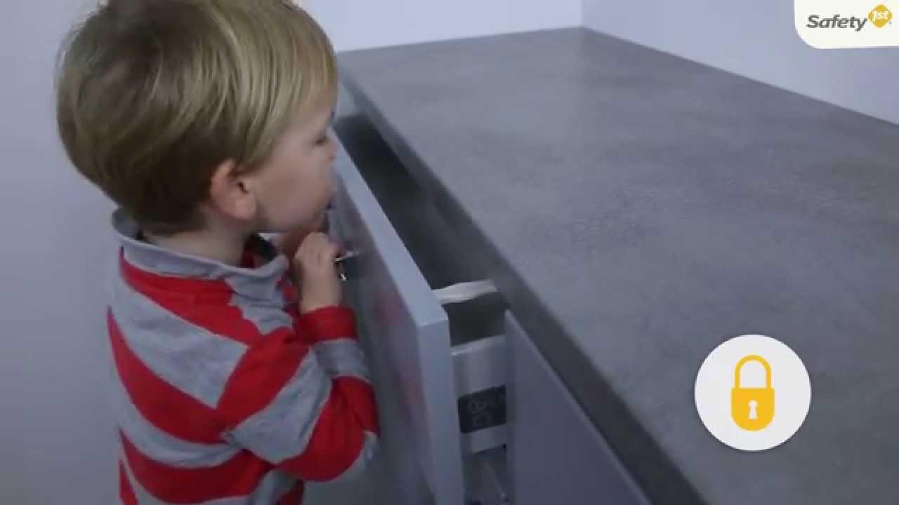 Comment Faire Pour Ouvrir Un Bowling bloque tiroir drawer locks de safety first